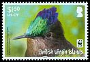 Cl: Antillean Crested Hummingbird (Orthorhyncus cristatus)(Repeat for this country)  SG 1281 (2014) 400