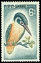 Cl: Common Kingfisher (Alcedo atthis) SG 163 (1964) 180