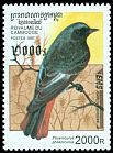 Cl: Black Redstart (Phoenicurus ochruros)(Out of range)  SG 1627E (1997) 350