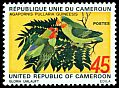 Cl: Red-headed Lovebird (Agapornis pullarius guineensis) SG 664 (1972) 275
