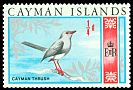 Cl: Recently extinct (May be refound!) <<HM: Turdus ravidus>>  SG 222 (1969) 10