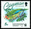 Cl: Cuban Parrot (Amazona leucocephala caymanensis)(Endemic or near-endemic)  SG 765 (1993) 85