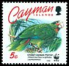 Cl: Cuban Parrot (Amazona leucocephala caymanensis)(Endemic or near-endemic)  SG 766 (1993) 85