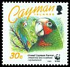 Cl: Cuban Parrot (Amazona leucocephala caymanensis)(Endemic or near-endemic)  SG 767 (1993) 225