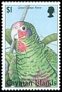 Cl: Cuban Parrot (Amazona leucocephala)(Endemic or near-endemic)  SG 867 (1998) 350