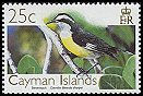 Cl: Bananaquit (Coereba flaveola sharpei)(Repeat for this country)  SG 1108 (2006) 75
