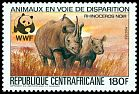 Cl: Yellow-billed Oxpecker (Buphagus africanus)(Repeat for this country)  SG 974 (1983) 500
