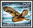 Cl: African Grass-Owl (Tyto capensis)(Repeat for this country) (I do not have this stamp)  new (2014)