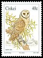Cl: Barn Owl (Tyto alba) SG 179 (1991)