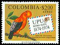 Cl: Andean Cock-of-the-rock (Rupicola peruviana sanguinolenta)(Repeat for this country)  SG 1365 (1974) 25