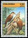 Colombia <<Aves trepatroncos>> SG 1725 (1985)