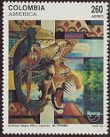 Cl: Scarlet Macaw (Ara macao)(Repeat for this country)  SG 1936 (1992) 40
