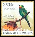 Cl: Blue-cheeked Bee-eater (Merops persicus)(Repeat for this country)  new (2009)