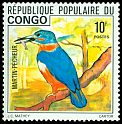 Cl: Shining-blue Kingfisher (Alcedo quadribrachys) SG 535 (1976) 175