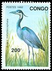 Cl: Black-headed Heron (Ardea melanocephala) SG 1315 (1992) 190