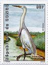 Cl: Great Egret (Ardea alba) <<Grande aigrette>> (I do not have this stamp)  SG 1489 (2001)