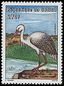 Cl: White Stork (Ciconia ciconia) <<Cigogne blanche>> (Out of range)  SG 1494 (2001)  [5/30]