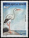 Cl: White Stork (Ciconia ciconia) <<Cigogne blanche>> (Out of range)  SG 1504 (2002)  [5/48]