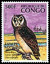 Cl: Marsh Owl (Asio capensis) <<Hibou des marais africains>>  SG 1396 (1996)