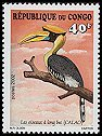 Cl: Great Hornbill (Buceros bicornis) <<Calao>> (Out of range)  SG 1503 (2002)  [5/48]