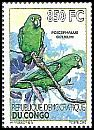 Cl: Red-fronted Parrot (Poicephalus gulielmi)(I do not have this stamp)  new (2012)