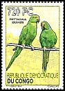 Cl: Rose-ringed Parakeet (Psittacula krameri)(I do not have this stamp)  new (2012)
