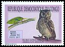 Cl: Spotted Eagle-Owl (Bubo africanus)(Repeat for this country) (I do not have this stamp)  new (2011)  [7/32]