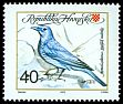 Cl: Blue Rock-Thrush (Monticola solitarius) <<Stijenjak modrokos>>  SG 193 (1992) 25