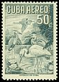 Cl: Great Blue Heron (Ardea herodias)(Repeat for this country)  SG 779 (1956) 600