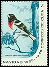 Cl: Rose-breasted Grosbeak (Pheucticus ludovicianus) SG 1290d (1965) 160