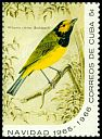 Cl: Hooded Warbler (Wilsonia citrina) SG 1291d (1965) 200
