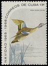 Cl: Blue-winged Teal (Anas discors) SG 1292a (1965) 375