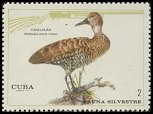 Cl: West Indian Whistling-Duck (Dendrocygna arborea) <<Yaguaza>>  SG 1796 (1970) 100