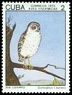 Cl: Bare-legged Owl (Gymnoglaux lawrencii) SG 2215 (1975) 25