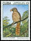 Cl: Hook-billed Kite (Chondrohierax uncinatus) <<Gavilan Colilargo>> (Endemic or near-endemic)  SG 2218 (1975) 200