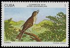 Cl: Cuban Solitaire (Myadestes elisabeth) <<Ruisenor>> (Endemic or near-endemic)  SG 2437 (1978)