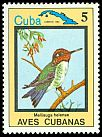 Cl: Bee Hummingbird (Mellisuga helenae)(Endemic or near-endemic)  SG 2950 (1983) 60