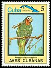 Cl: Cuban Parrot (Amazona leucocephala)(Endemic or near-endemic)  SG 2953 (1983) 60