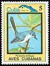Cl: Cuban Gnatcatcher (Polioptila lembeyei)(Endemic or near-endemic)  SG 2964 (1983) 60