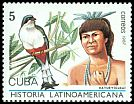 Cl: Cuban Trogon (Priotelus temnurus)(Endemic or near-endemic)  SG 3281 (1987) 45