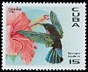 Cl: Purple-throated Carib (Eulampis jugularis)(Repeat for this country)  SG 4080 (1996)