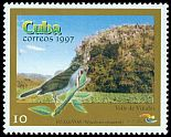 Cl: Cuban Solitaire (Myadestes elisabeth) <<Ruisenor>> (Endemic or near-endemic)  SG 4199 (1997) 30