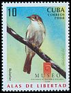Cl: Cuban Solitaire (Myadestes elisabeth)(Endemic or near-endemic)  SG 5214 (2008)