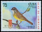 Cl: Zapata Sparrow (Torreornis inexpectata)(Endemic or near-endemic)  SG 5218 (2008)