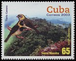 Cl: Cuban Grassquit (Tiaris canora)(Endemic or near-endemic)  SG 4690 (2003)