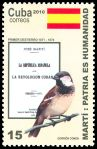 Cl: House Sparrow (Passer domesticus) <<Gorrion com&uacute;n>> (Introduced)  SG 5536 (2010)
