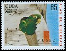 Cl: Cuban Parakeet (Aratinga euops)(Endemic or near-endemic)  SG 5217 (2008)