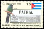 Cl: Cuban Emerald (Chlorostilbon ricordii) <<Colibri>> (Endemic or near-endemic)  SG 5534 (2010)