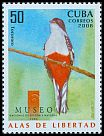Cl: Cuban Trogon (Priotelus temnurus)(Endemic or near-endemic)  SG 5216 (2008)