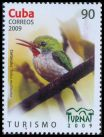 Cl: Cuban Tody (Todus multicolor) <<Cartacuba>> (Endemic or near-endemic)  SG 5432 (2009)